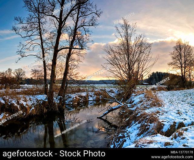 Winter at the Schmutter
