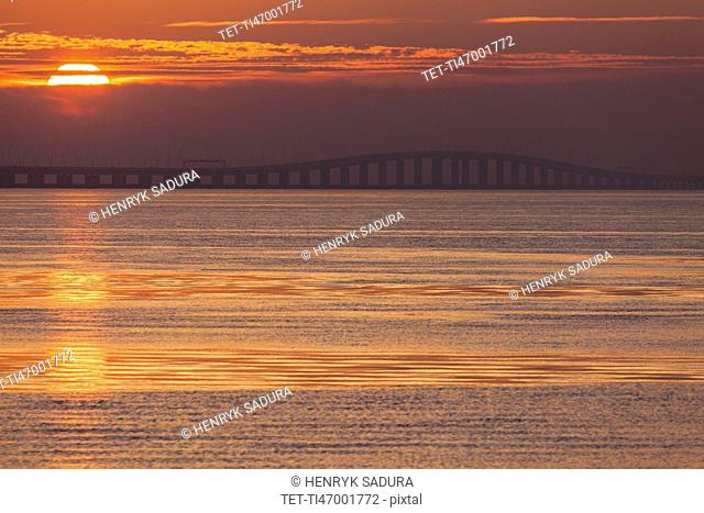 Portugal, Lisbon, Vasco da Gama Bridge