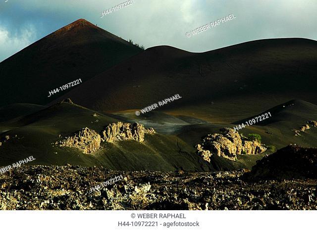 Ascension, Ascension Island, volcano, mountain, sisters peak, lava, lava field, one boat
