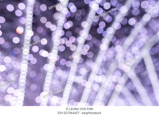 Blur view of Christmas light