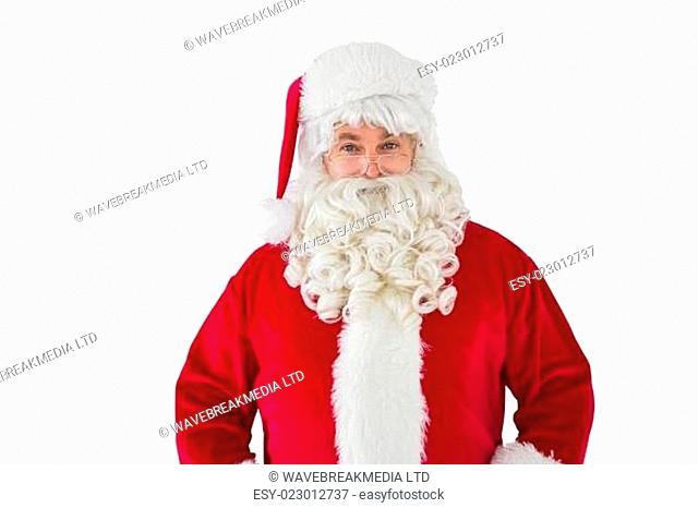 Portrait of smiling santa claus