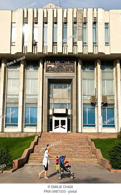 Central Asia, Kyrgyzstan, Chuy province, capital Bishkek, Ala-Too place, the State historical museum