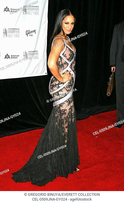 Alicia Keyes at arrivals for Songwriters Hall of Fame Awards Induction, The Marriott Marquis Hotel, New York, NY, Thursday, June 09, 2005