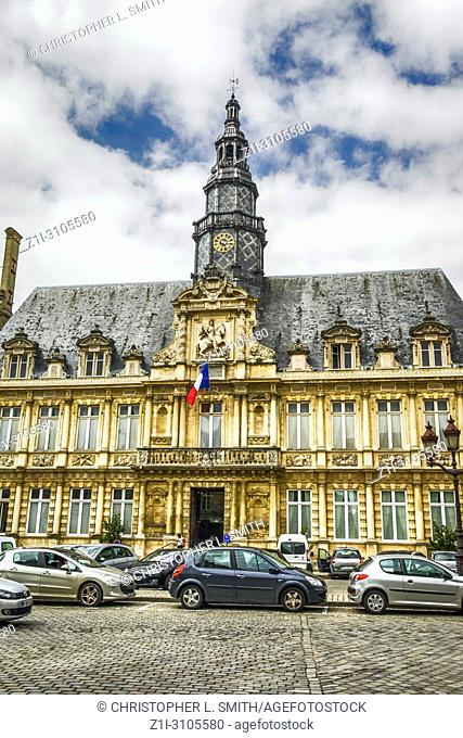 Hotel de Ville, once the City Hall in Reims, France