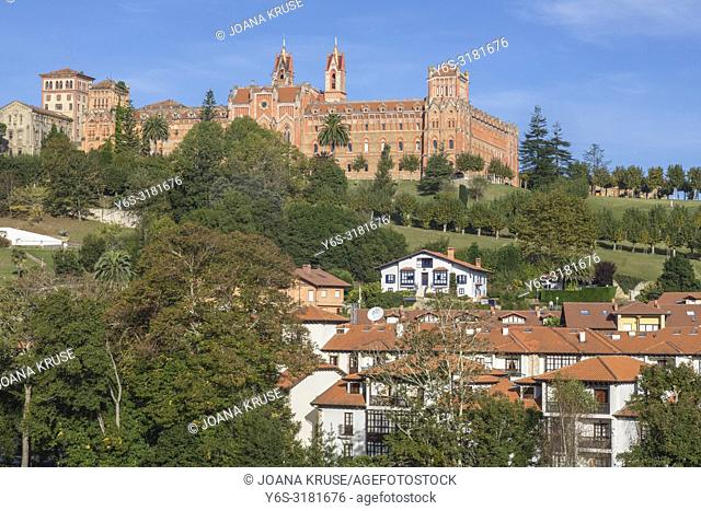 Comillas, Comillas Pontifical University, Cantabria, Spain, Europe