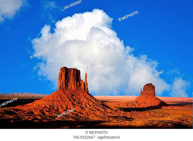 Monument Valley, Utah, Arizona, USA - Utah,USA, 15/08/2014