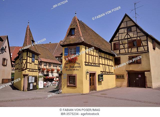 Freudenreich winery in Eguisheim, named favorite village of the French in 2013, Le Village Préféré
