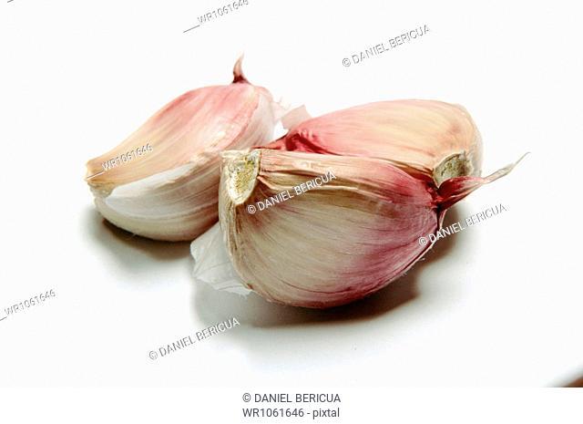 Garlic, Close Up