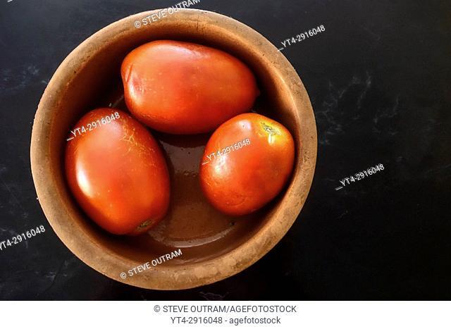 Fresh Village Tomatoes, Crete, Greece