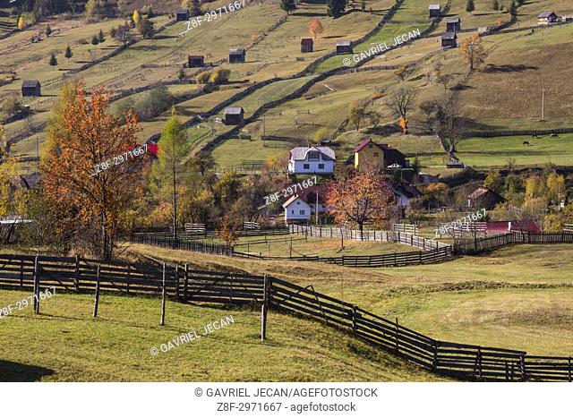 Rural landscapes of Romania