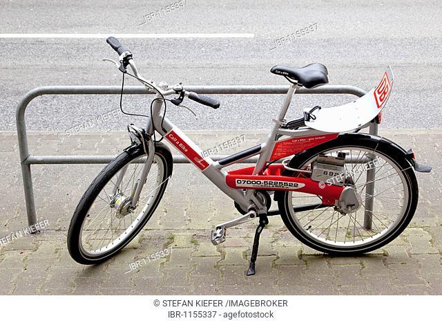 Call a bike rental bike of Deutsche Bahn AG German railways