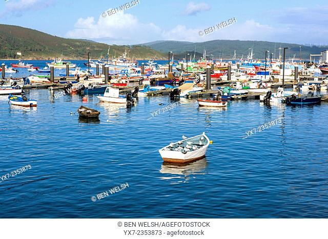 The Harbour of Finisterre. Galicia, Spain