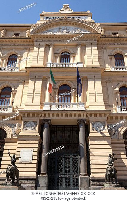 Camera Di Commercio Industria Artigianato E Agricoltura, Chamber of Commerce, Naples, Campania, Italy