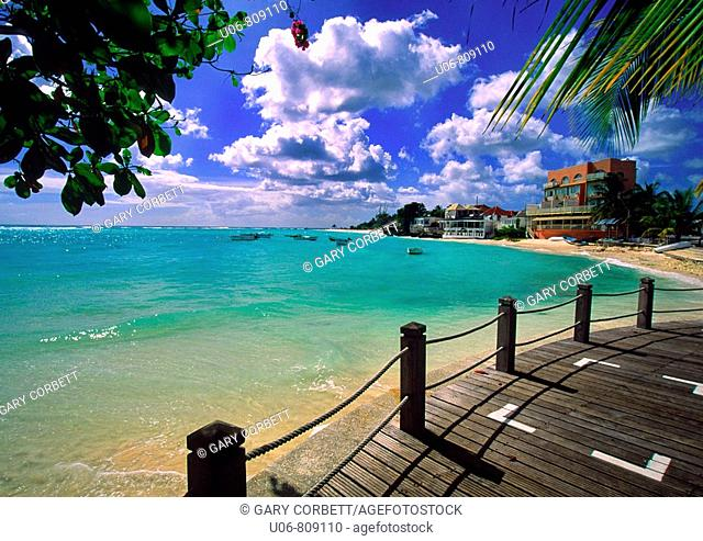 St Lawrence Gap in Barbados