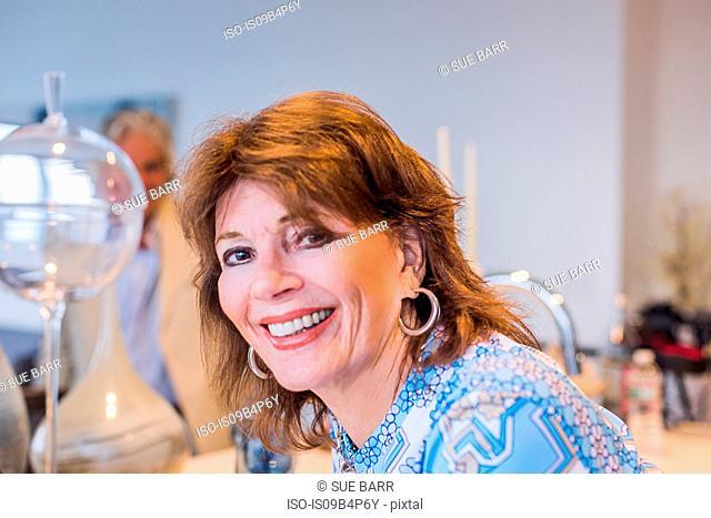 Portrait of senior woman, smiling