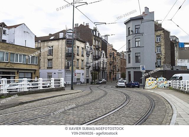 Street, Brussels, Belgium