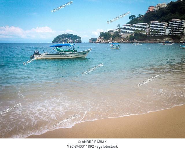Mismaloya beach, Banderas Bay, Jalisco, Mexico