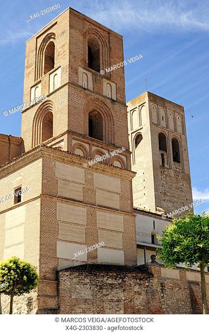 San Martin Church. Arevalo, Segovia, Spain