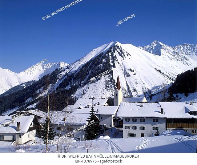 Berwang near Reutte, Tyrol, Austria, Europe