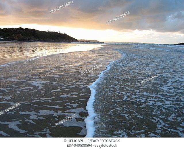 Martin beach in Brittany
