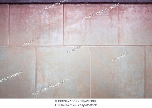 Ceramic tiles wall texture background, stock photo