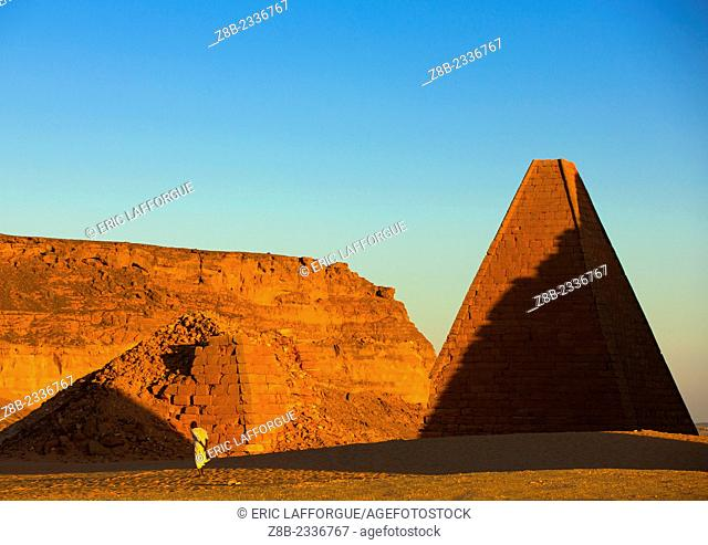 The Pyramids At Jebel Barkal, Used By Napatan Kings, Karima, Sudan