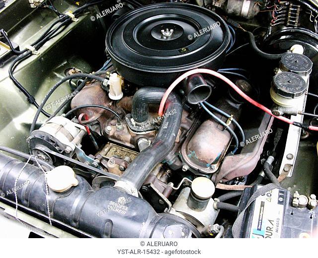 Car, exposing, motor, Brazil