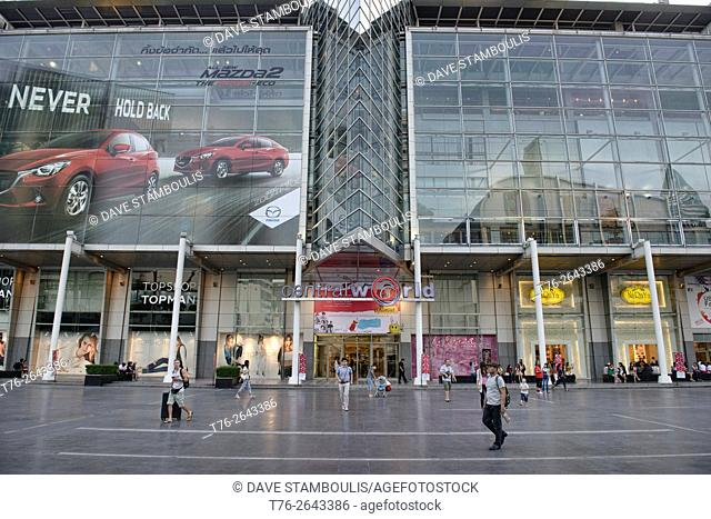 Central World Shopping Mall in Bangkok, Thailand