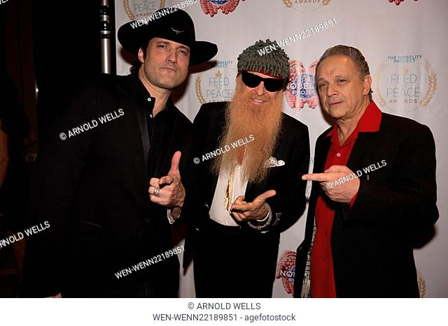 Feed the Peace Awards at the Four Seasons Austin honoring Kyle Chandler and Steven Van Zandt Featuring: Robert Rodriguez, Billy Gibbons