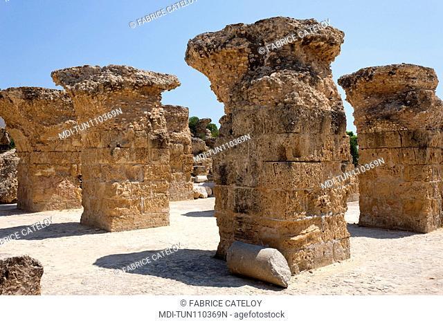 Tunisia - Carthage - Antonine Roman thermal baths