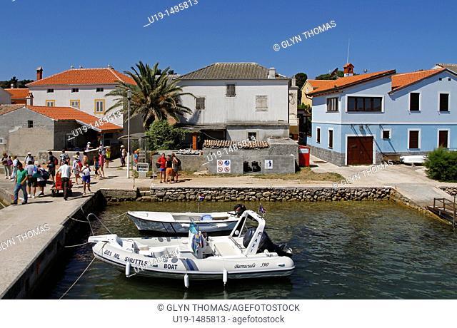 Ilovik port, Croatia