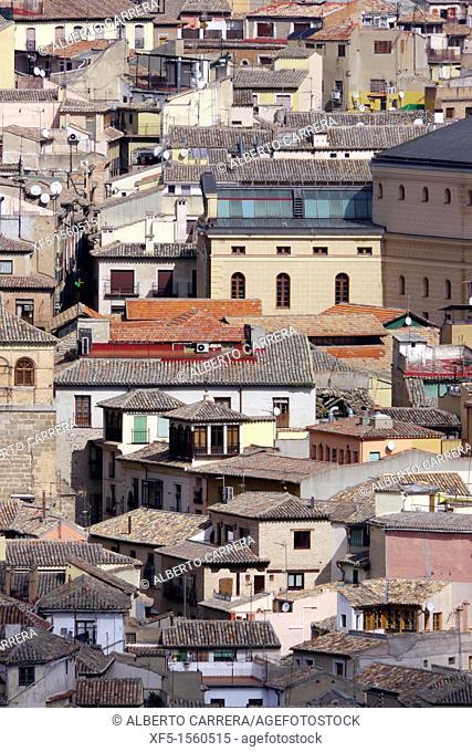 Old town view, Toledo, World Heritage Site by UNESCO, Castilla La Mancha, Spain, Europe
