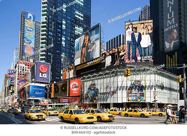 Times Square, Midtown, Manhattan, New York, USA
