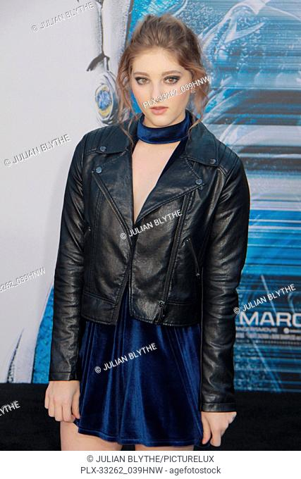 """Willow Shields 03/22/2017 """"""""Power Rangers"""""""" Premiere held at the Westwood Village Theater in Westwood, CA Photo by Julian Blythe / HNW / PictureLux"""