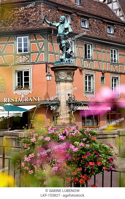 Schwendi Fountain, Strasbourg, Alsace, France
