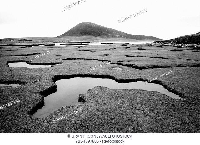 Landscape, Isle of Harris, Scotland