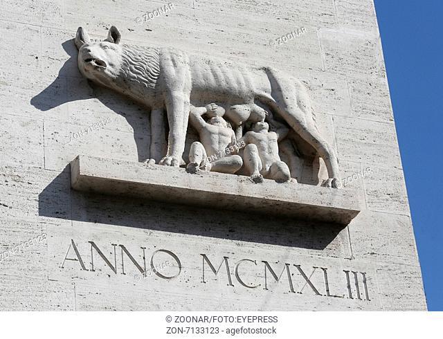 Romulus und Remus Monument