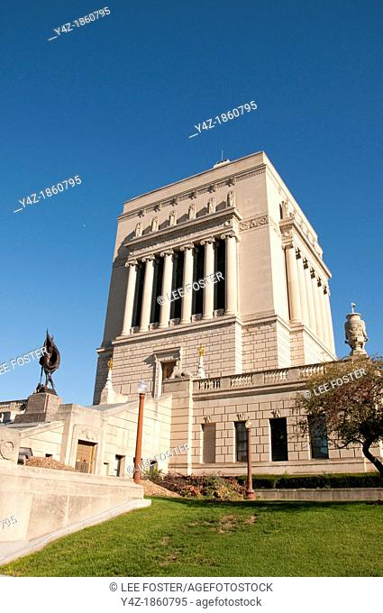 USA, Indiana, Indianapolis, Indiana War Memorial