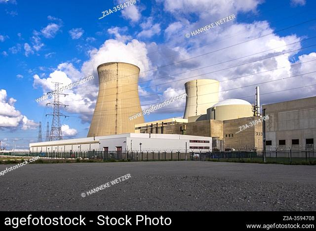 Doel Nuclear Power Station, Flemish province of East Flanders, Belgium, Europe