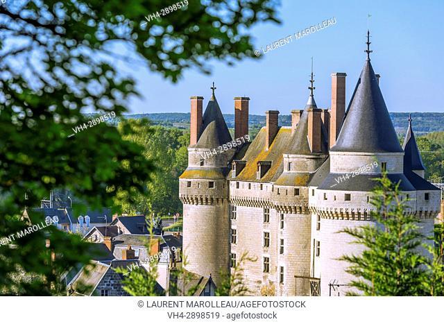 The Castle of Langeais, Indre-et-Loire, Centre region, Loire valley, France, Europe