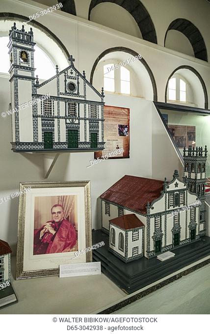 Portugal, Azores, Sao Miguel Island, Ribeira Grande, Museu de Emigracao, museum of Azorean Emmigration, interior