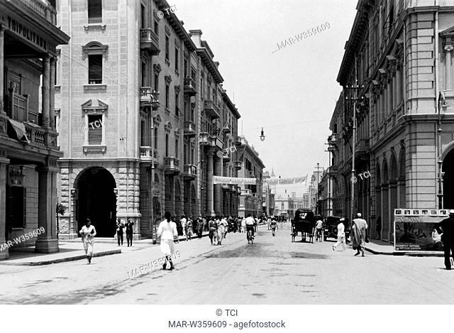 corso vittorio emanuele III, tripoli, Libya, africa 1930-40