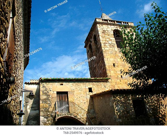 Vilert, Pla de L'Estany, Girona, Catalonia, Spain