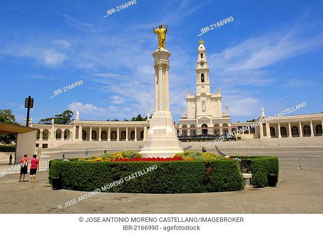 Sanctuary of Our Lady of Fatima, Fatima, Estremadura, Portugal, Europe