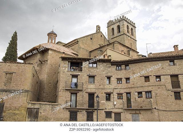 Old mediterranean village Mora de Rubielos, province of Teruel, Aragon-Spain