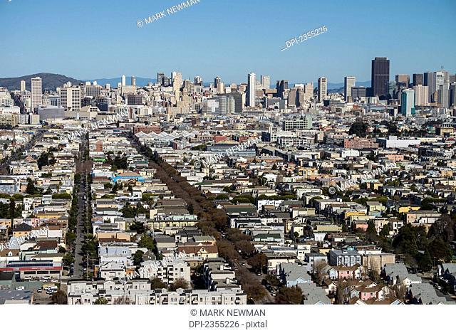 Buildings Downtown San Francisco; San Francisco, California, United States Of America