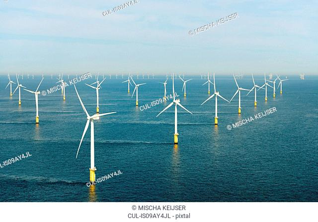Offshore wind farm, North Sea