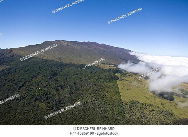 Haleakala Volcano Crater, Hawaii, USA, Maui, Aeria