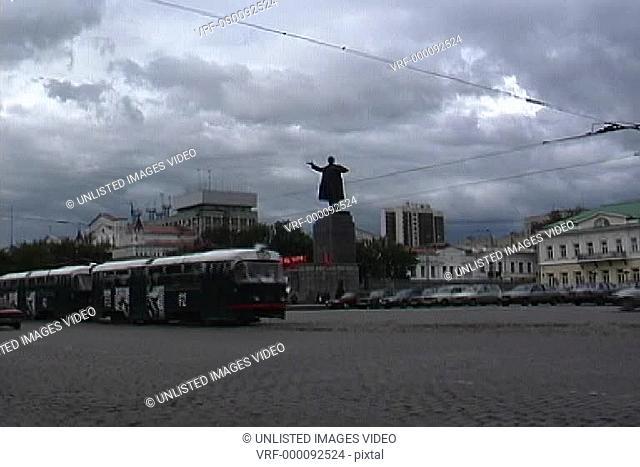 Yekaterinburg Lenin statue