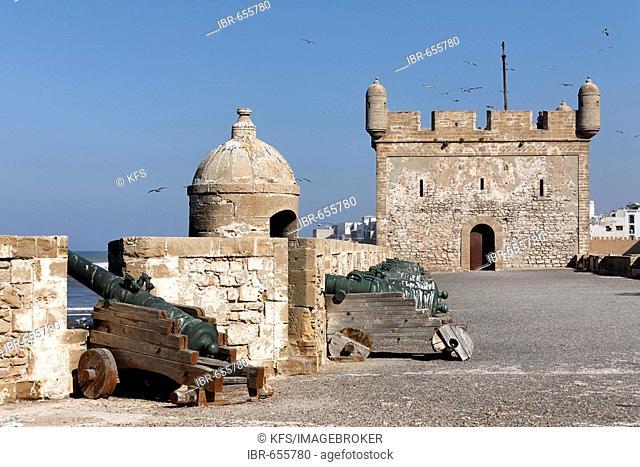 Scala du Port Fortress, Essaouira, Morocco, Africa